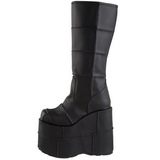 matt 18 cm STACK-301 platå gotisk støvler til menn