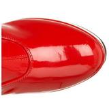 rød lakk 11 cm Funtasma EXOTICA-2000 platå høye støvler