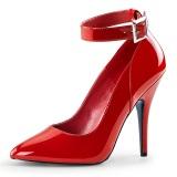 rød lakkert 13 cm SEDUCE-431 høye stilett pumps til menn