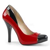 rød lakklær 12,5 cm EVE-07 store størrelser pumps sko