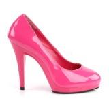 rosa 11,5 cm FLAIR-480 høye damesko med hæl