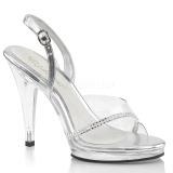 strass steiner 11,5 cm FLAIR-456 sko med høye hæler for menn