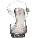 strass steiner 13 cm LIP-108SD dame sandaler med hæl