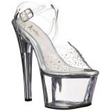 strass steiner 18 cm SKY-308SD platform høyhælte sko