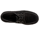 suede 5 cm CREEPER-101 creepers sko dame platåsko tykke såler