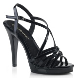 svart 11,5 cm FLAIR-413 fabulicious sandaler platå