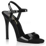 svart 11,5 cm GALA-09 fabulicious sandaler med stiletthæl