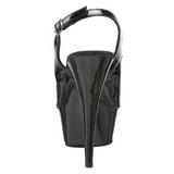 svart 15 cm DELIGHT-654 høye damesko med hæl