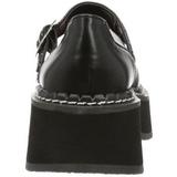 svart 5 cm EMILY-221 lolita gothic platåsko