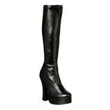 svart matt 13 cm ELECTRA-2000Z høye damestøvler til menn