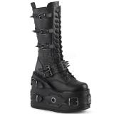 vegan 14 cm SWING-327 demonia støvler platå
