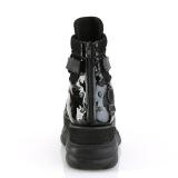 vegan 7,5 cm NEPTUNE-126 demonia ankelstøvletter - unisex cyberpunk ankelstøvletter