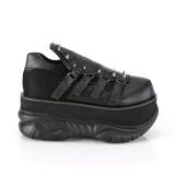 vegan 7,5 cm NEPTUNE-50 gotisk demonia sko til menn