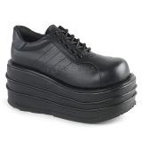 vegan 9 cm TEMPO-08 platå gotisk sko til menn