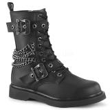 vegan BOLT-250 demonia ankelstøvletter - unisex militærstøvler