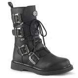 vegan BOLT-265 demonia ankelstøvletter - unisex militærstøvler