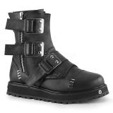 vegan VALOR-150 demonia ankelstøvletter - unisex militærstøvler